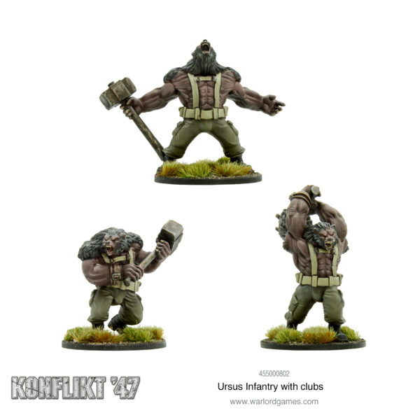 Ursus Infantry with Clubs