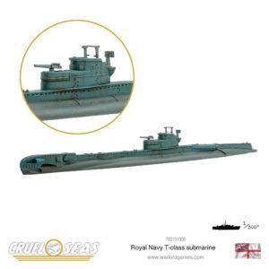 Royal Navy T-class Submarine