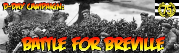 D Day Campaign Breville Banner