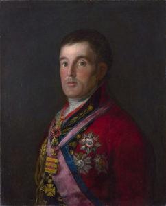 The Duke of Wellington by Francisco Goya, 1812–14