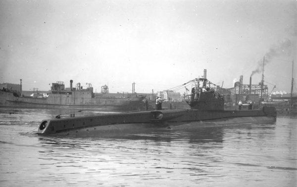 HMS Totem September 1945