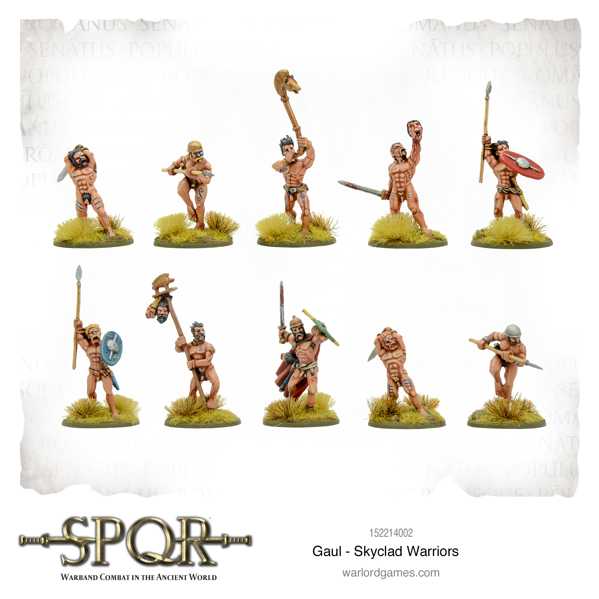 Gaul Skyclad Warriors