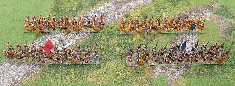 John Stallard's French Infantry Brigade.