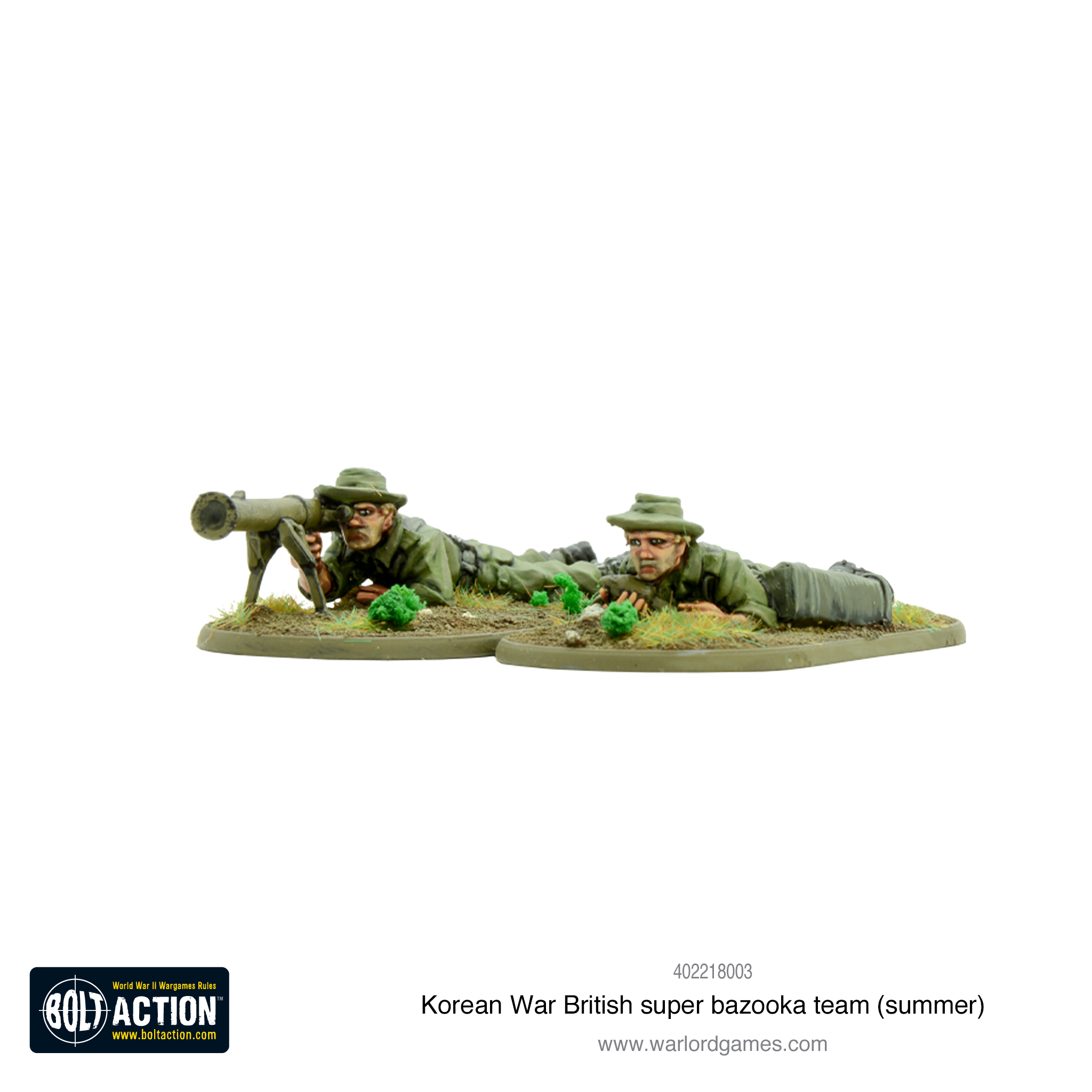 Korean War British Super Bazooka Team