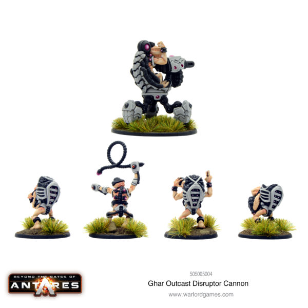Ghar Outcasts Disruptor Cannon Rear