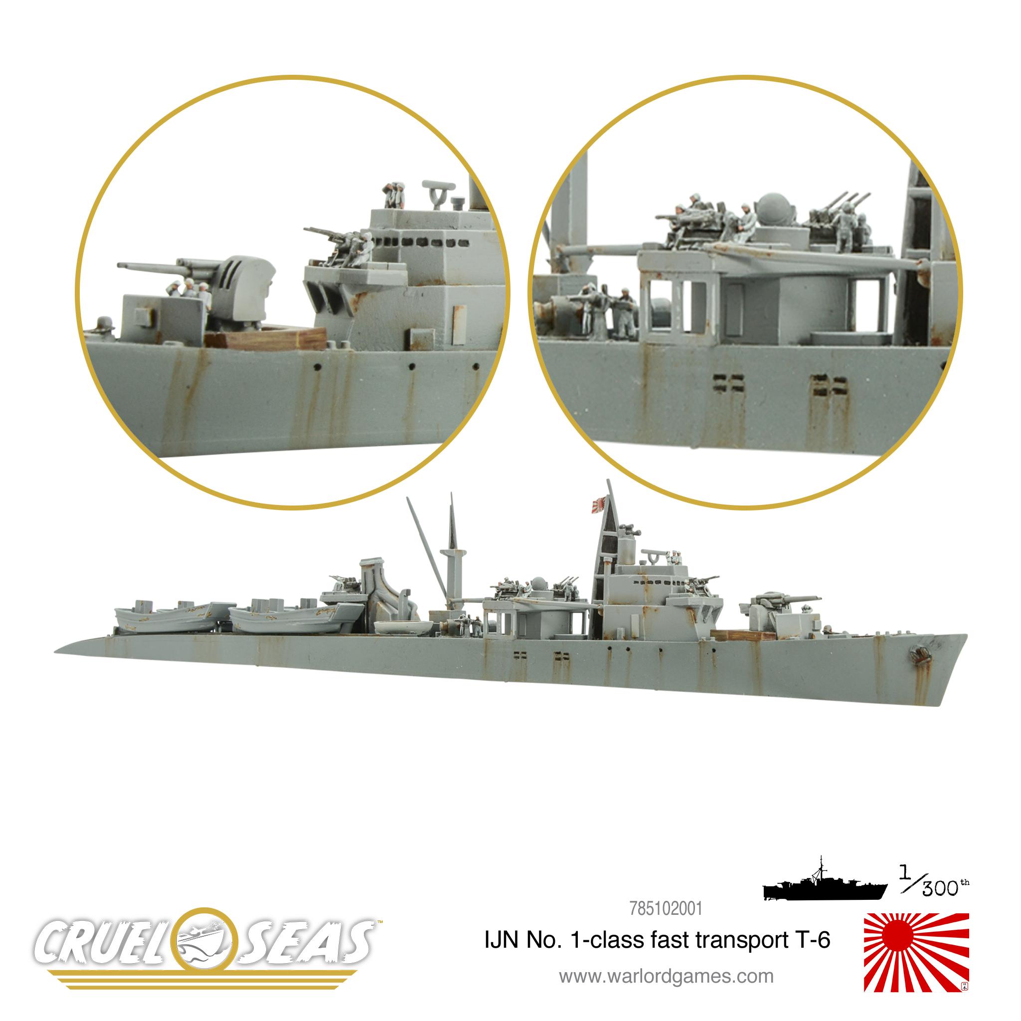 IJN No 1 class fast transport T-6 1