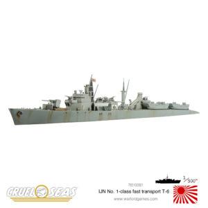 IJN No 1 class fast transport T-6 2