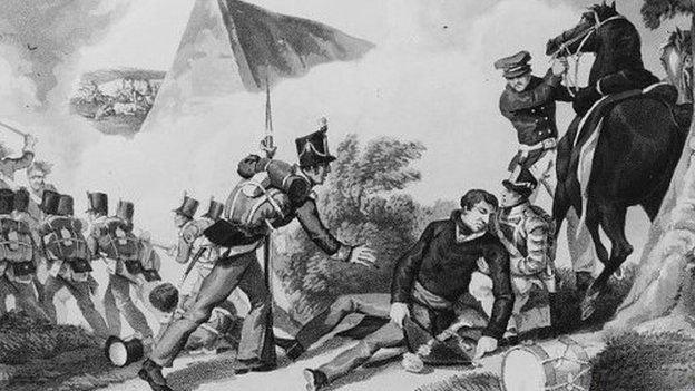Death of Sir Thomas Picton
