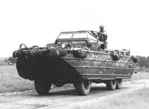 Dukw Amphibious Truck