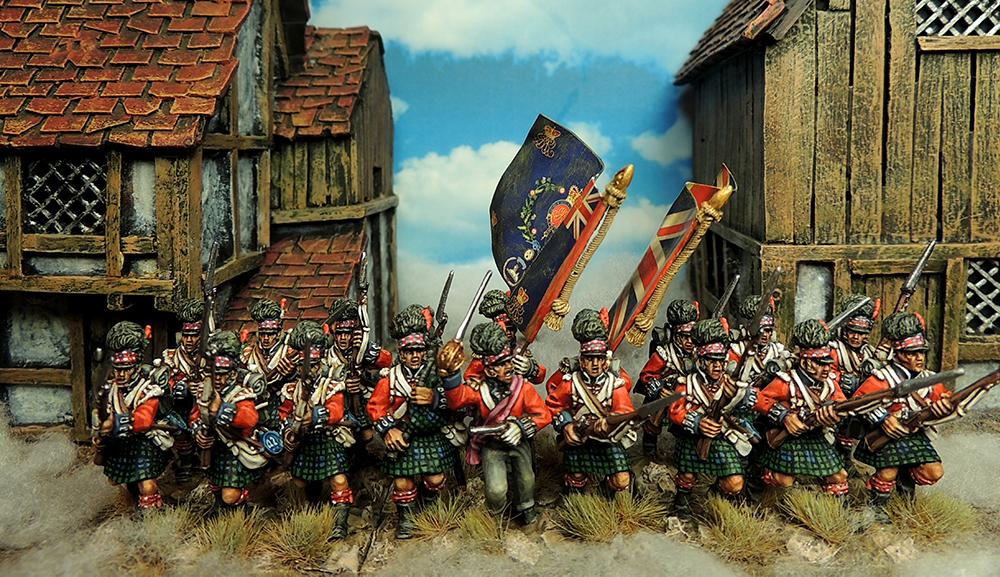 Francesco Thau Painted Highlanders