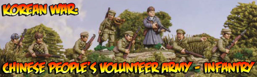 Korean War: Chinese People's Volunteer Army