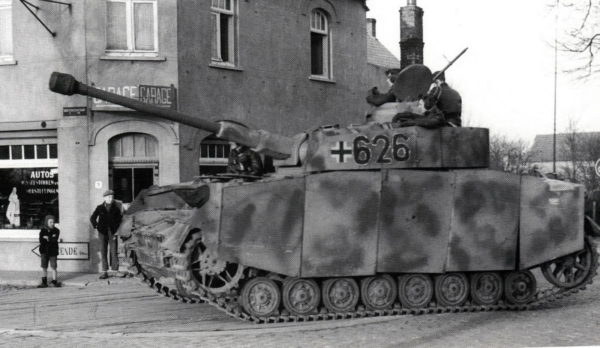 Panzerkampfwagen IV Ausf H of 12. SS-Panzer-Division