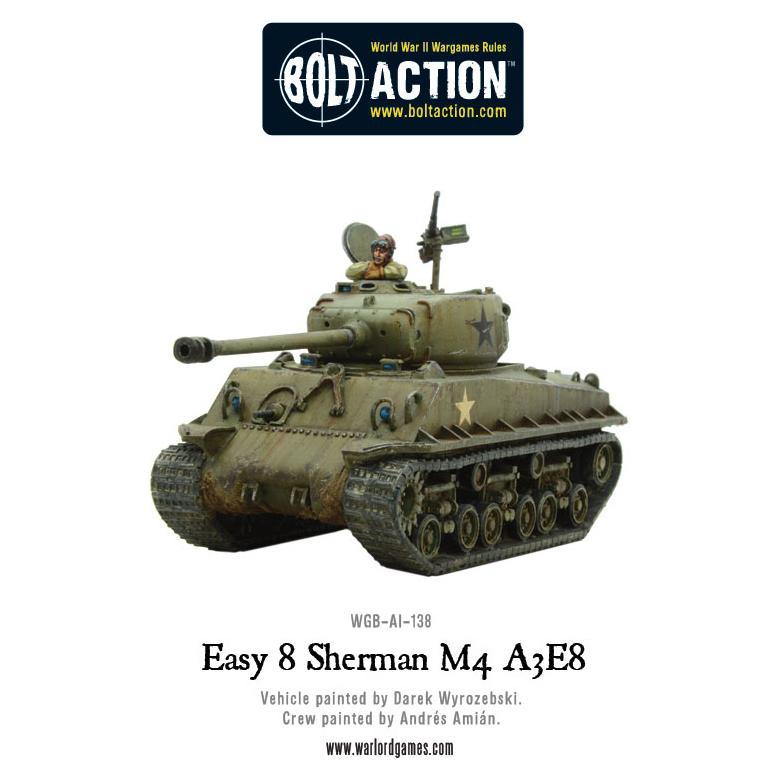 M4A3E8 Sherman Easy 8