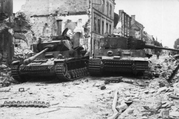 Destroyed Panzer & Tiger