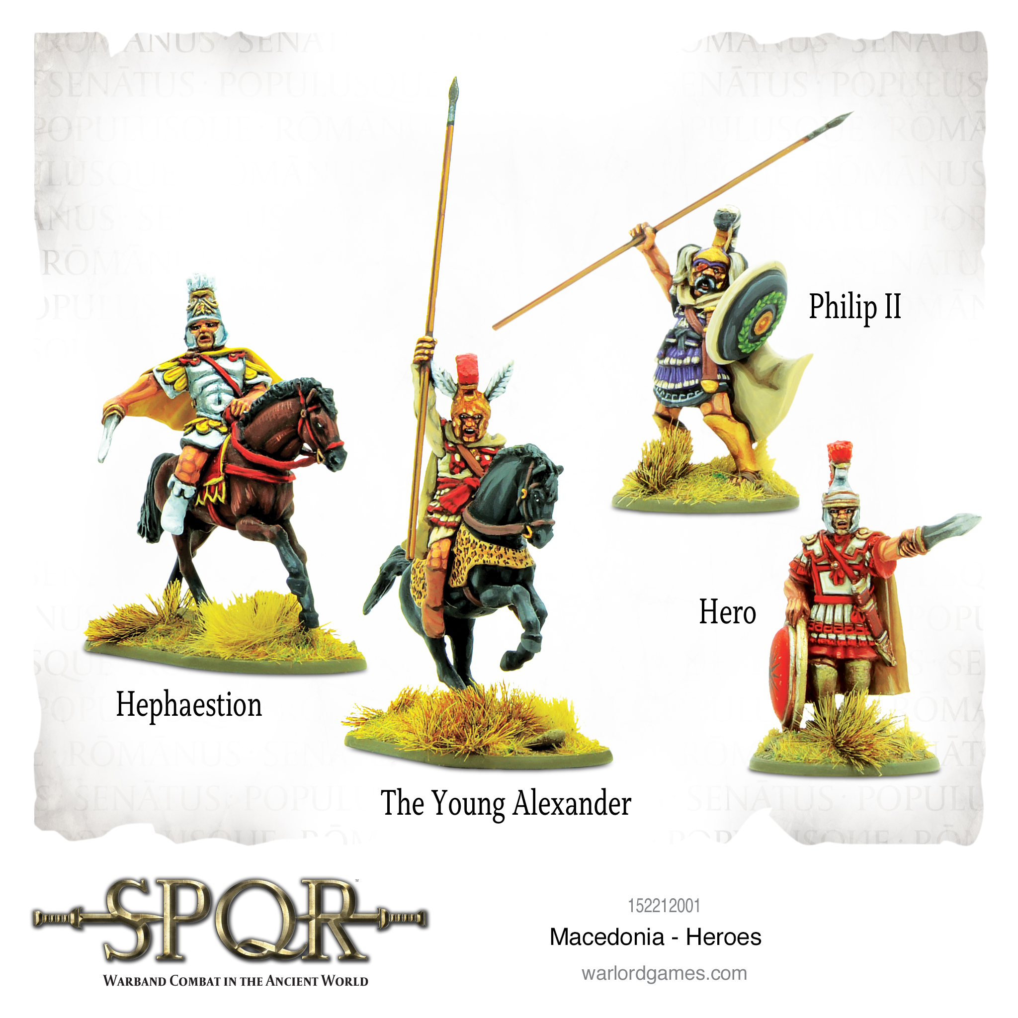 SPQR: Macedonia Heroes