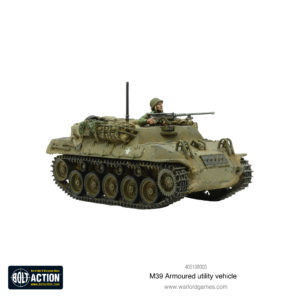 M39 Armoured Utility Vehicle Front