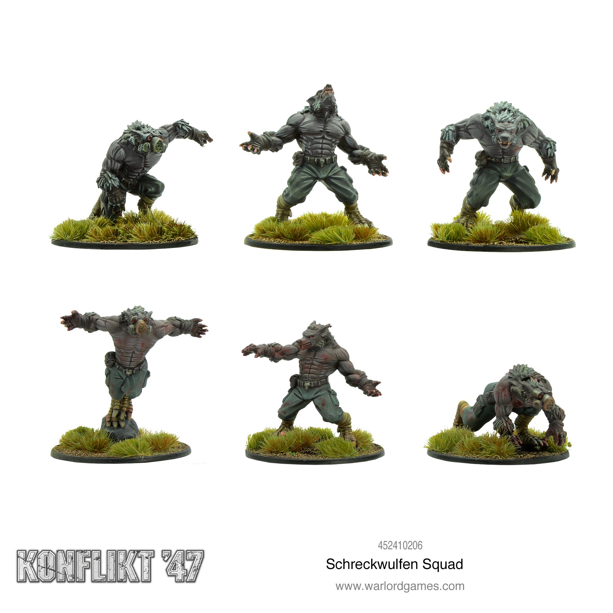 Konflikt 47 Schreckwulfen Squad