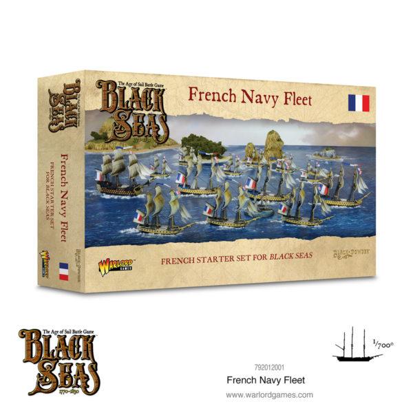 Black Seas: French Navy Fleet (1770-1830) Box