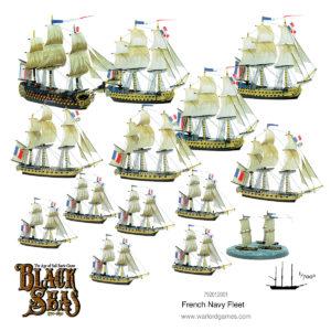 Black Seas: French Navy Fleet (1770-1830)