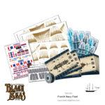 Black Seas: French Navy Fleet (1770-1830) Accessories