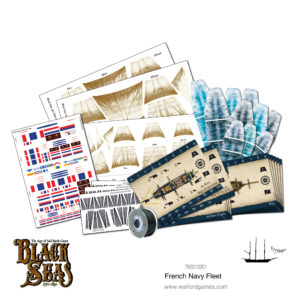 Black Seas: French Navy Fleet (1770-1830) Accessories