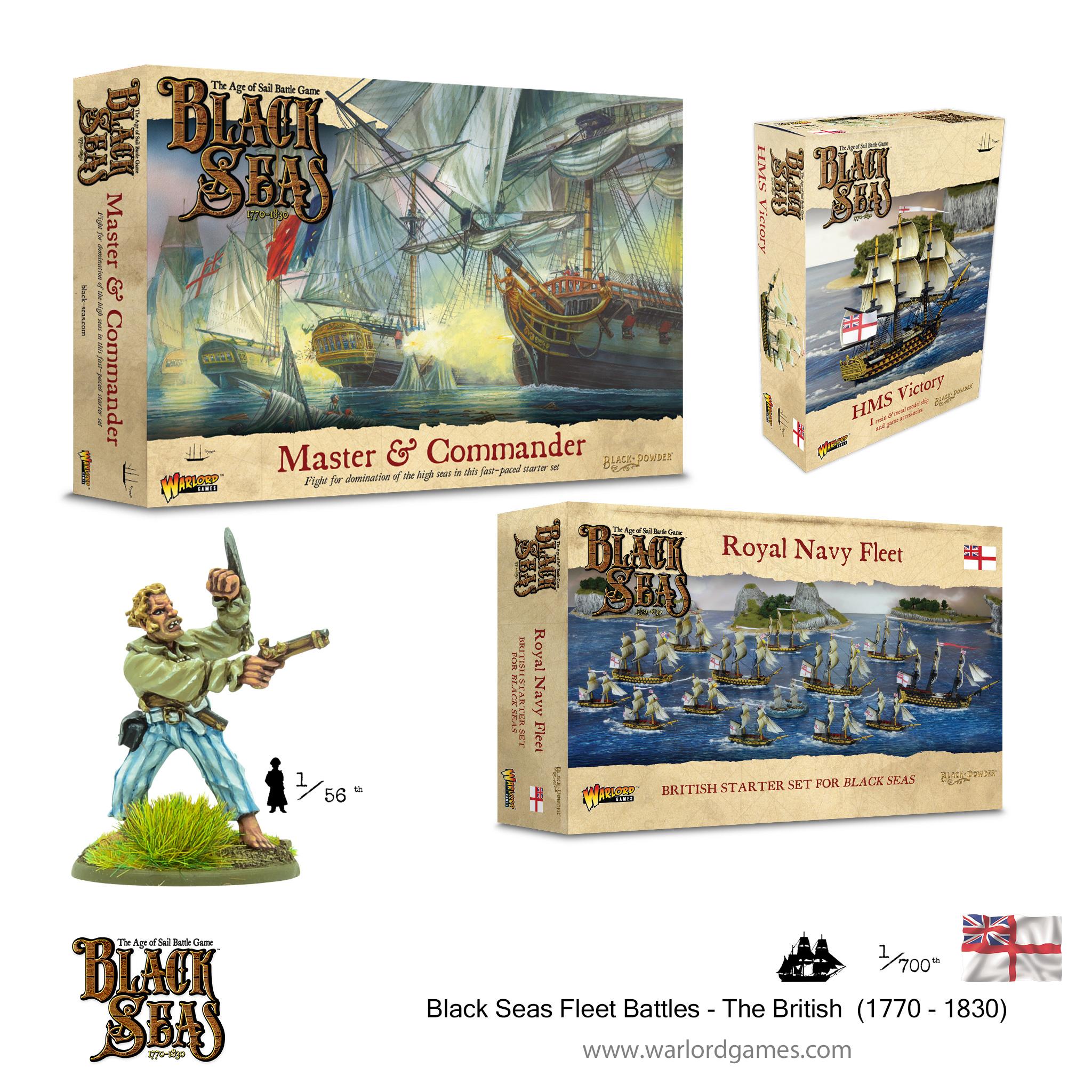 Black Seas Fleet Battles - The British (1770 - 1830)