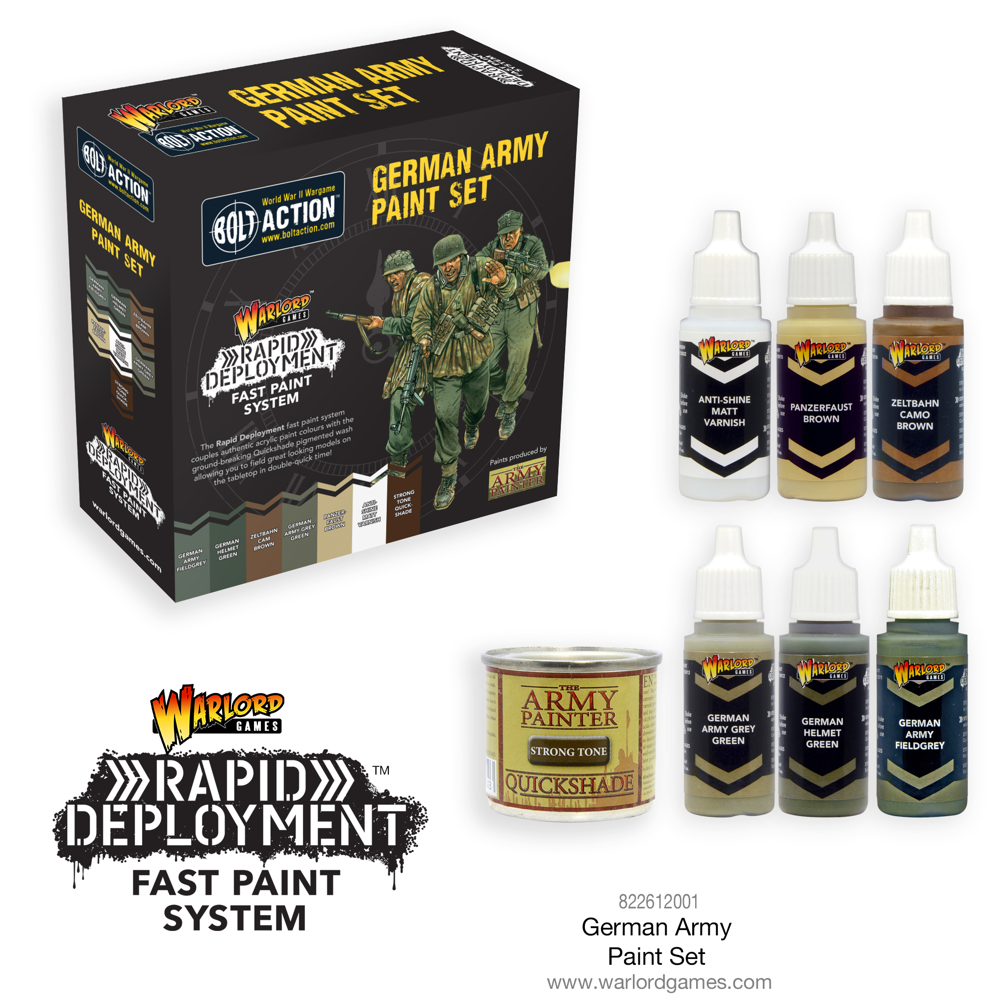 German Army Paint Set