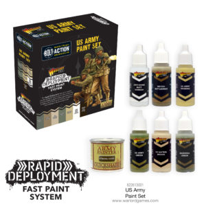 US Army Paint Set