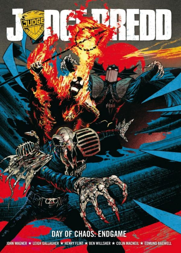 JUDGE DREDD DAY OF CHAOS - ENDGAME [PAPERBACK]