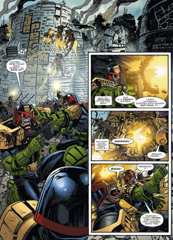 JUDGE DREDD DAY OF CHAOS FALLOUT [PAPERBACK] sample