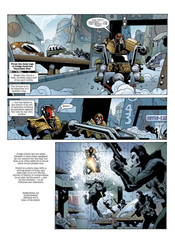 JUDGE DREDD EVERY EMPIRE FALLS sample