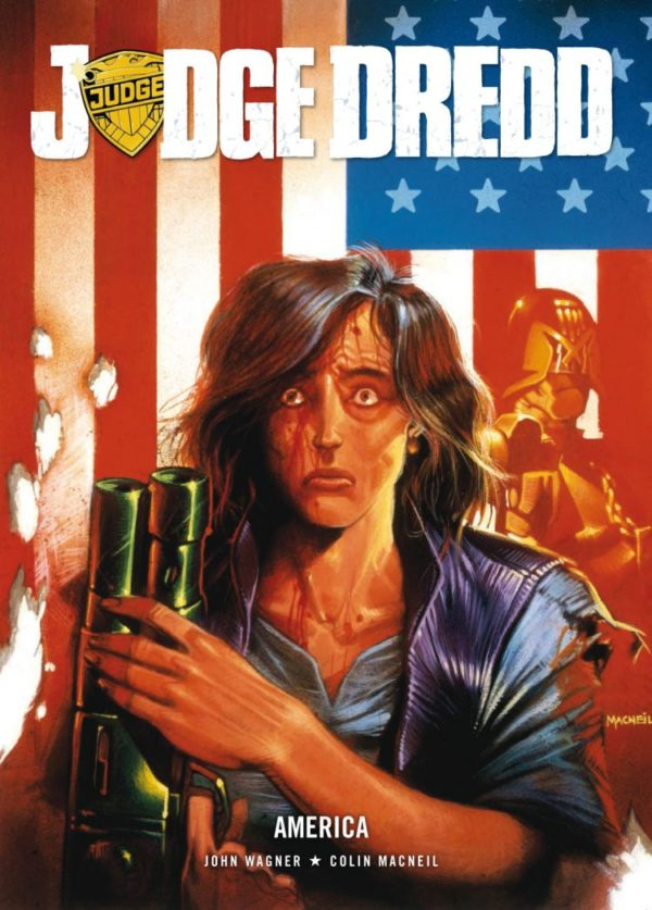 JUDGE DREDD AMERICA [PAPERBACK COMIC] sample