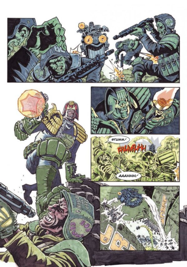 JUDGE DREDD TOUR OF DUTY - THE BACKLASH [PAPERBACK COMIC] sample