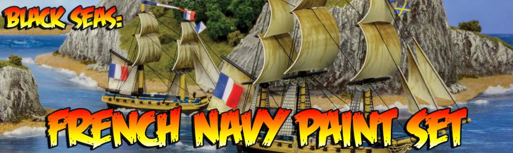 Black Seas: French Navy Paint Set
