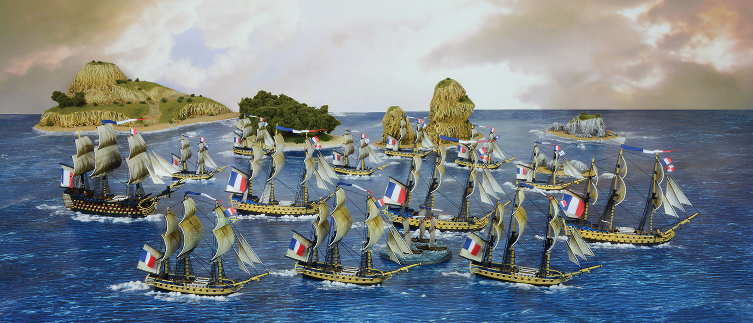 French Navy Fleet