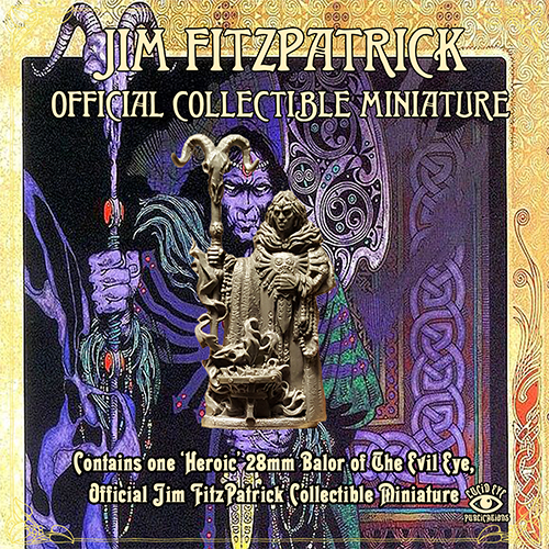 Jim Fitzpatrick Official Collectible Miniature - Balor of The Evil Eye