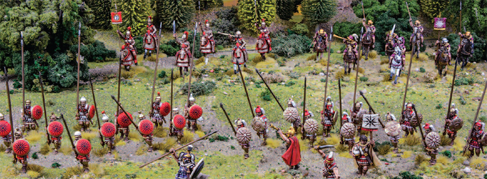 Macedonian Battle Line