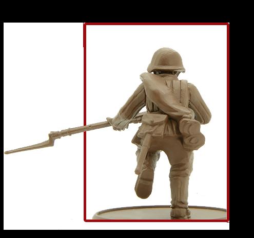 Soviet Infantry Rear 1