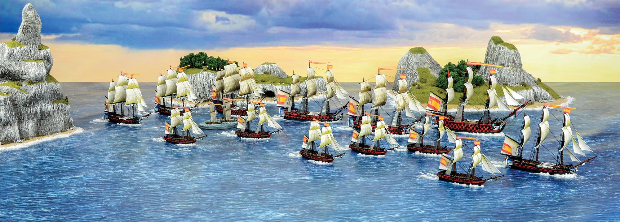 Spanish Navy Fleet