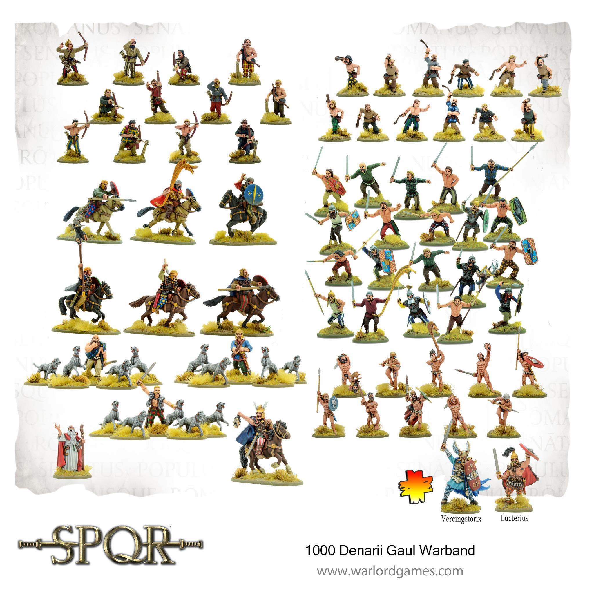 1000 Denarii Gaul Warband