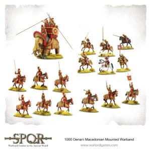 1000 Denarii Macedonian Mounted Warband