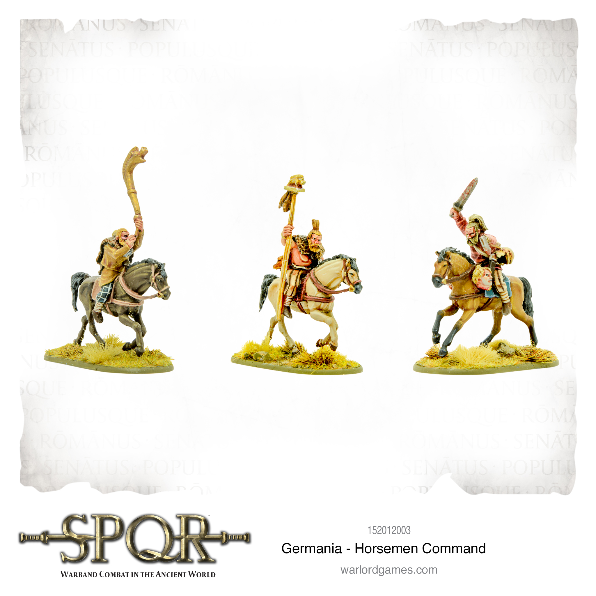 SPQR: Germania - Horsemen command