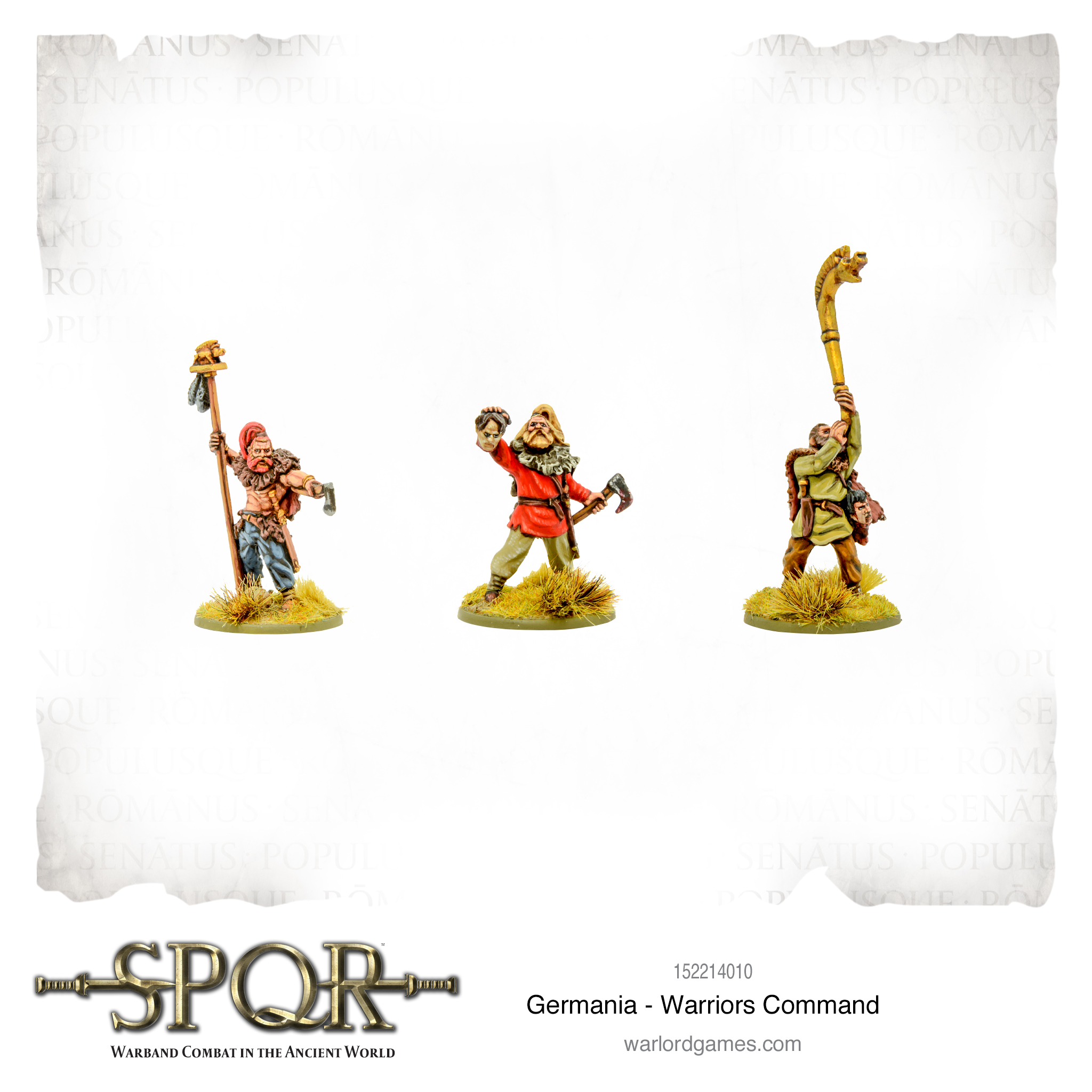 SPQR: Germania - Warriors Command