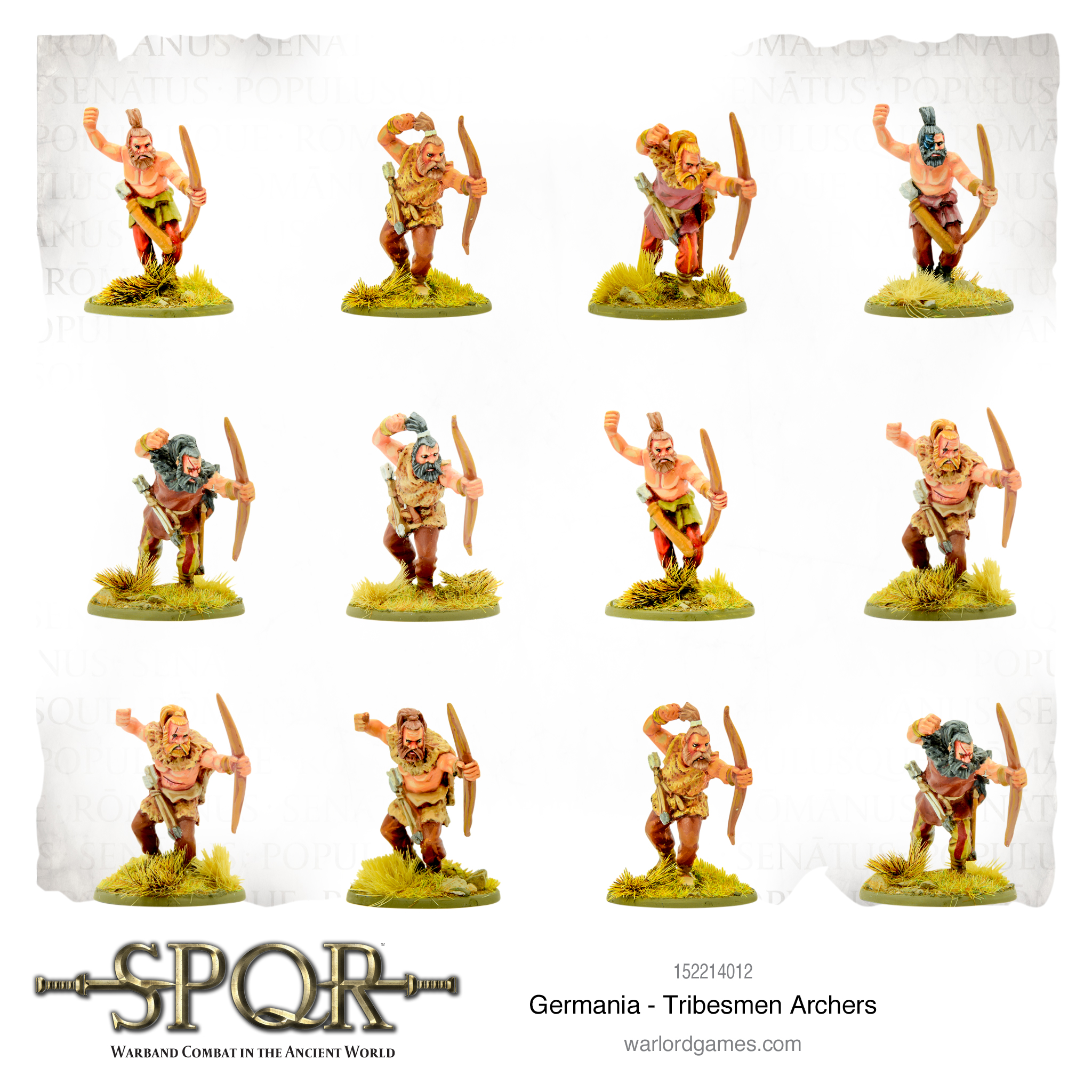 SPQR: Germania - Tribesmen Archers