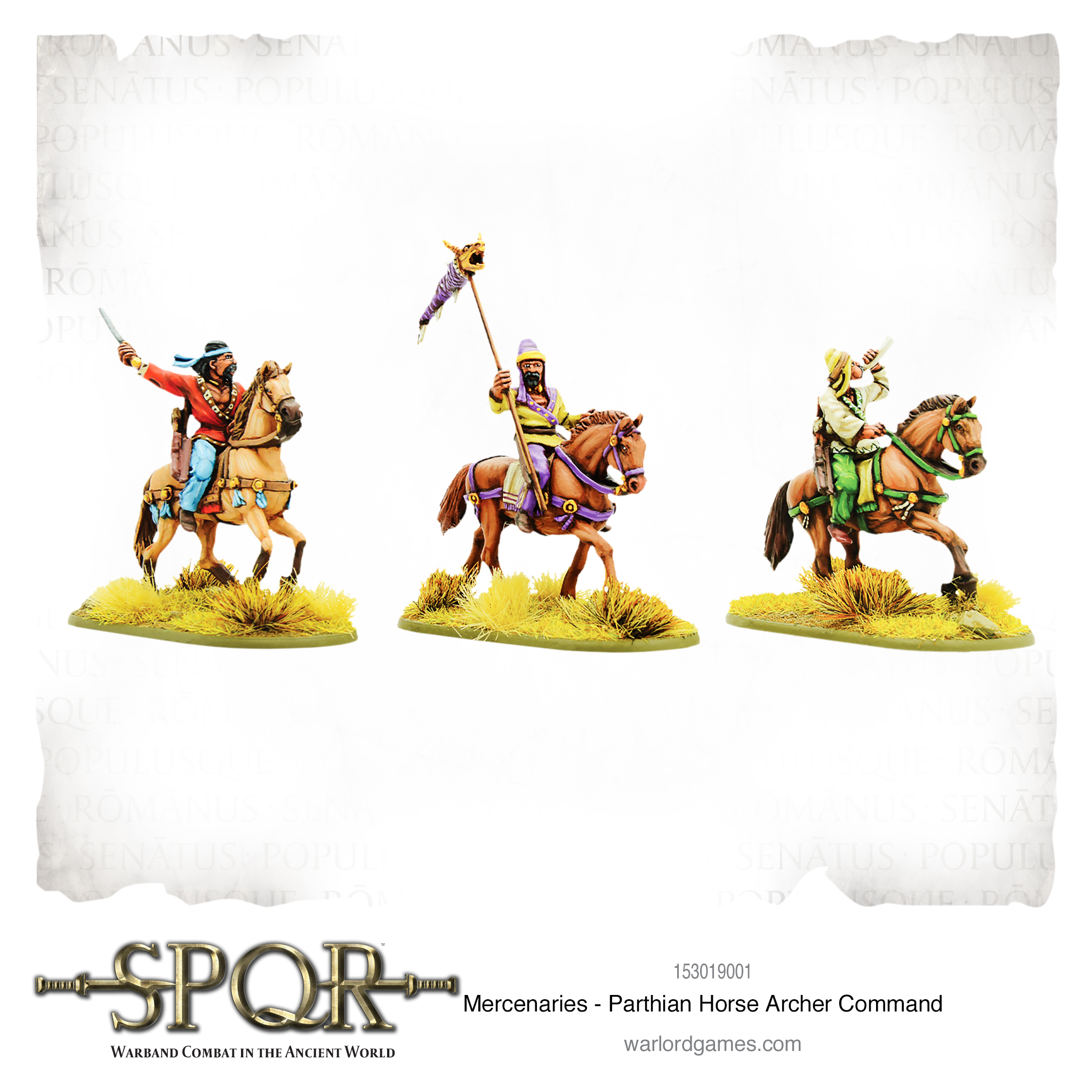 SPQR: Mercenaries - Parthian Horse Archer command