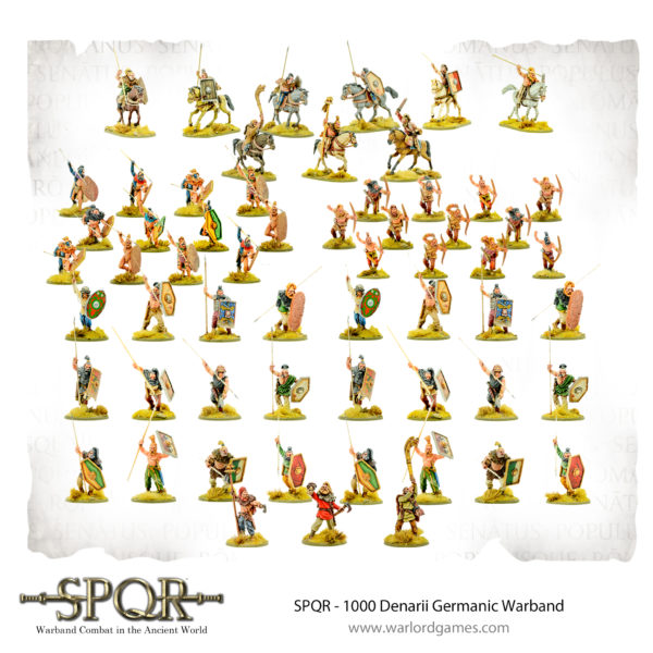 SPQR 1000 Denarii Germanic Warband