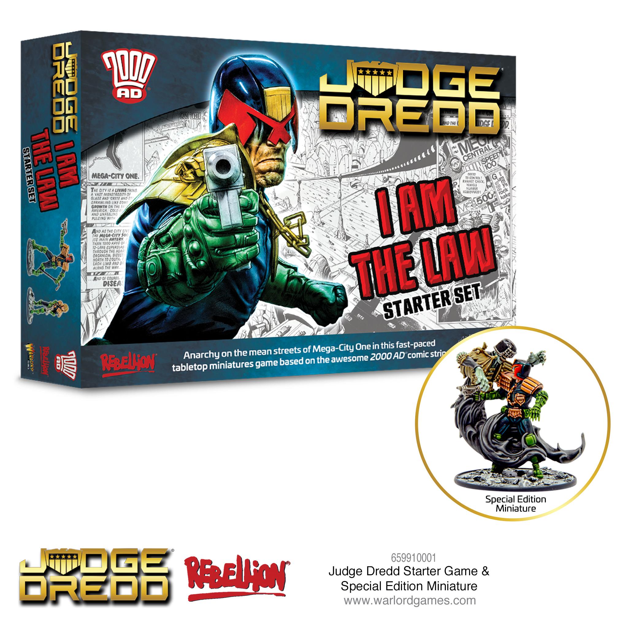 Judge Dredd Starter Game