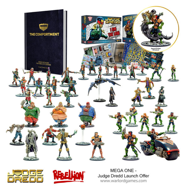 Judge Dredd - MEGA ONE