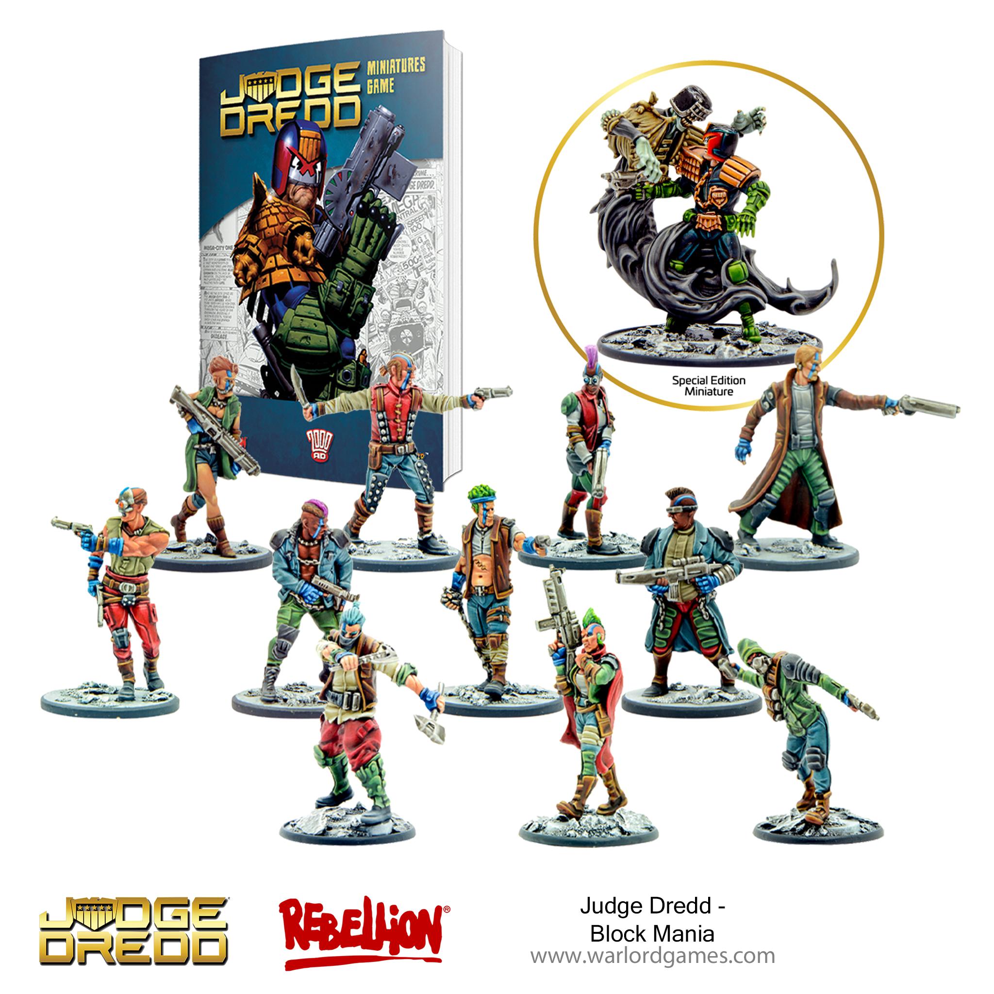 Judge Dredd Block Mania