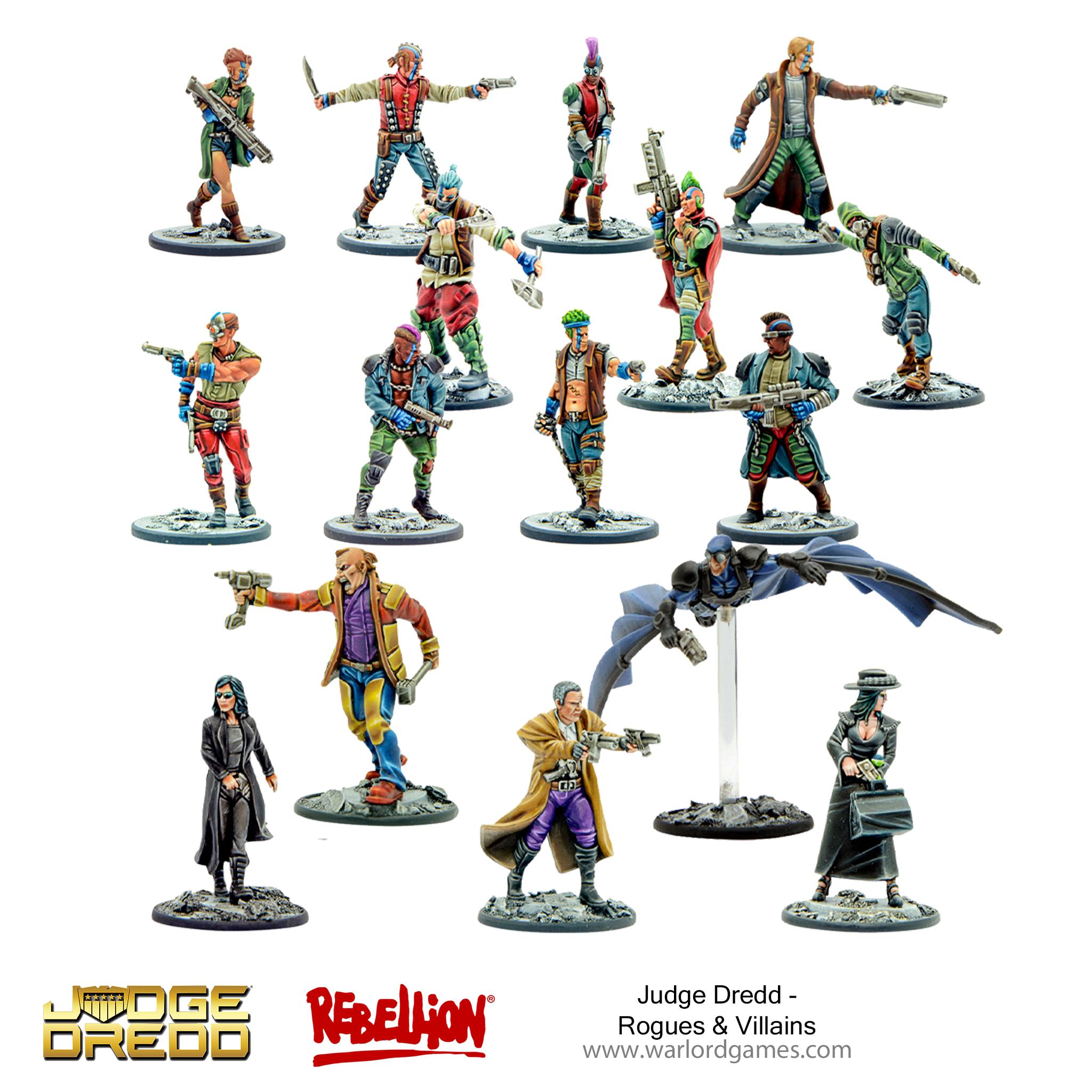 Judge Dredd Rogues & Villains